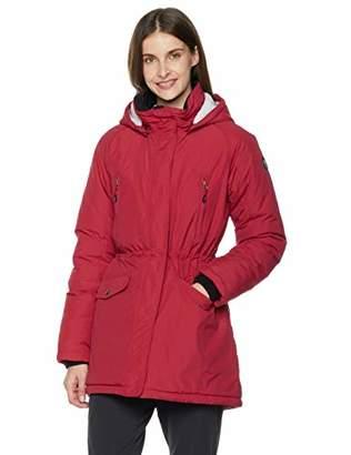 5Oaks Women's Hooded Teddy-Fleece Lined Winter Coat Jacket XL