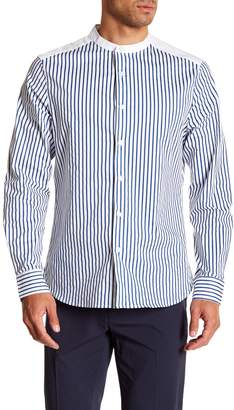 Kenneth Cole New York Striped Long Sleeve Regular Fit Shirt