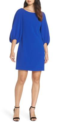 Eliza J Bloused Sleeve Shift Dress
