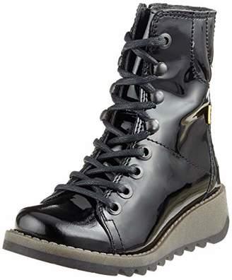 Fly London Girls' Same K Ankle Boots (Black 003), (30 EU)