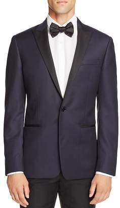 John Varvatos Star USA Luxe Textured Peak Regular Fit Tuxedo Jacket $598 thestylecure.com