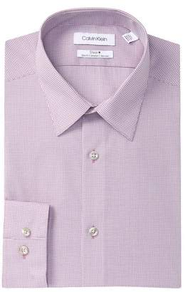 Calvin Klein Check Slim Fit Dress Shirt