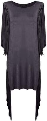 Fisico fringed beach dress