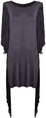 Fisico fringed beach dress
