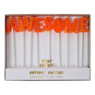 Meri Meri Awesome Candles - Set of 7
