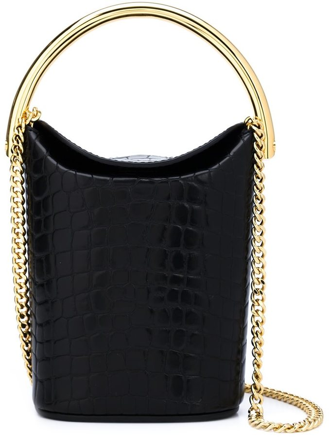 Stella McCartney - alter croc shoulder bag - women - Artificial Leather - One Size