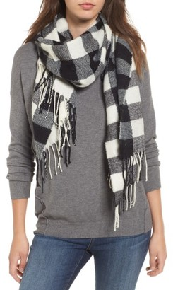 Women's Bp Buffalo Check Scarf $25 thestylecure.com