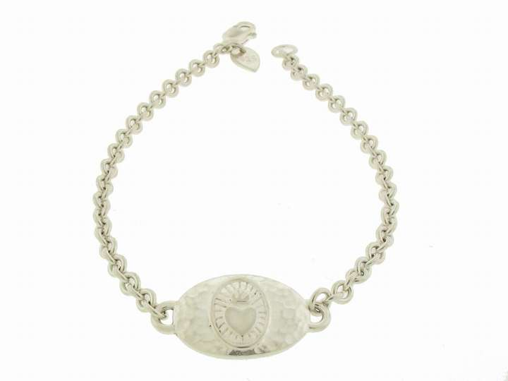 Me & Ro Charity ID Bracelet in Silver