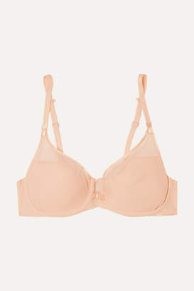 Chantelle Aéria Stretch-mesh And Tulle Underwired Contour Bra