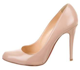 Christian Louboutin Simple Round-Toe Pumps