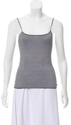 Armani Collezioni Sleeveless Striped Top