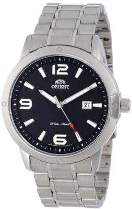 Orient Men's FUND2002B0 SP Date Indicator Stainless Steel Watch