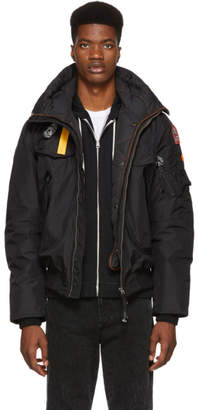 Free Express Shipping at SSENSE · Parajumpers Black Down Masterpiece Base Gobi Jacket