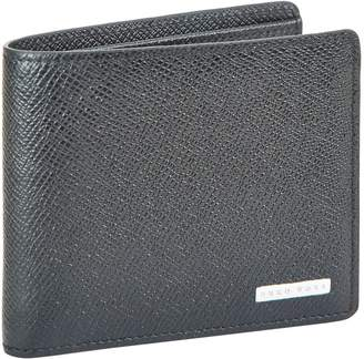 HUGO BOSS Signature Leather Bifold Wallet