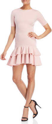 Necessary Objects Ruffled Short Sleeve Dress