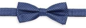 Burma Bibas Basketweave Silk Bow Tie