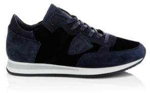 Philippe Model Suede& Textile Sneakers