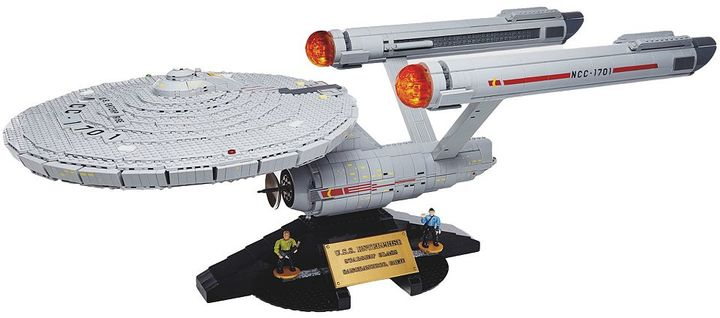 Mega bloks Star Trek U.S.S. Enterprise NCC-1701 Exclusive Collector Construction Set by Mega Bloks