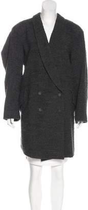 Theyskens' Theory Bouclé Long Coat