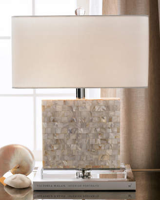 Regina-Andrew Design Regina Andrew Design Rectangular Mother-of-Pearl Lamp