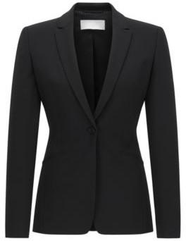 BOSS Hugo Wool Blazer Jabina 4 Black