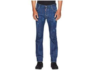 DSQUARED2 Dark Simple Cropped Flare Jeans