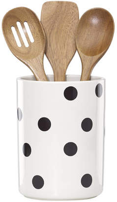 Kate Spade 4 Piece All in Good Taste Deco Dot Utensil Set
