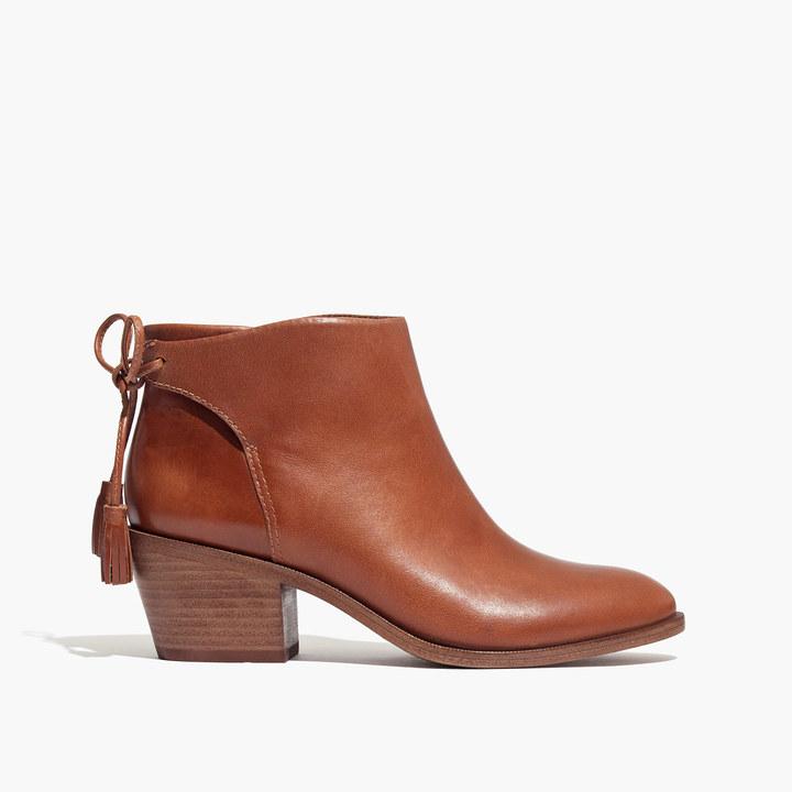 Madewell et Sézane® Low-Heel Tassel Boots