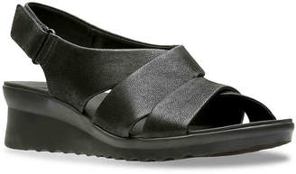 Clarks Cloudsteppers by Caddell Petal Wedge Sandal - Women's