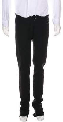 M.A+ Flat Front Knit Spiral Pants