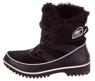 fef16eb598c Sorel Suede Ankle Boots