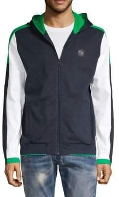 Calvin Klein Full-Zip Hooded Jacket