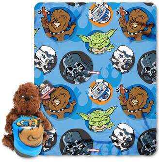 Disney Star Wars Chewie Hugger Pillow & Throw Set by