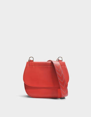 Gerard Darel You Hobo Bag in Red Calfskin