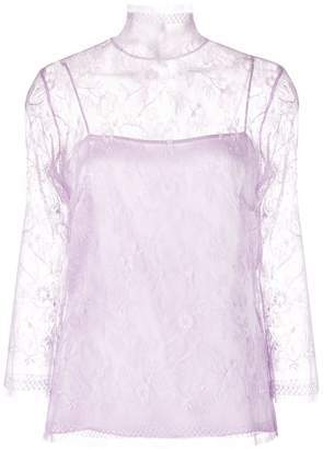 ADAM by Adam Lippes layered lace top