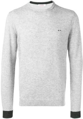 Sun 68 contrasting cuff sweater