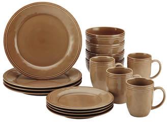 Rachael Ray Cucina 16 Piece Dinnerware Set, Service for 4