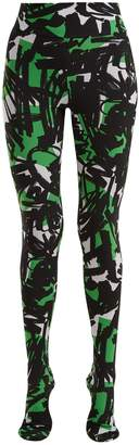 Burberry Graffiti-print leggings