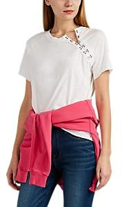 NSF Women's Hook Eye Cotton Jersey T-Shirt - White