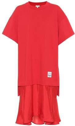 Kenzo Cotton sweatshirt dress