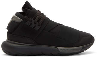 Y-3 Black Qasa High Sneakers