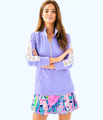 Lilly Pulitzer Womens Skipper Solid Popover
