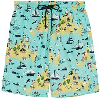 Vilebrequin 'Okoa' graphic print swim shorts