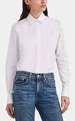 The Row Women's Pete Cotton Button-Front Shirt - White