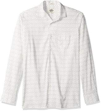Casual Terrains Men's Classic-Fit Long-Sleeve Floral Camp Shirt .