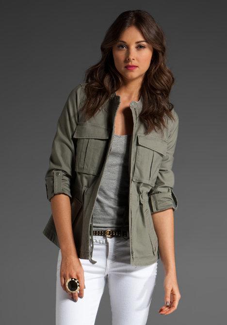 Joie Reverse Eliza Cargo Jacket