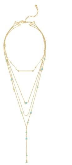 Women's Baublebar Harlow Layered Lariat Necklace