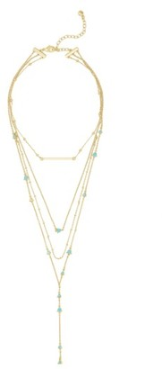 Women's Baublebar Harlow Layered Lariat Necklace $36 thestylecure.com
