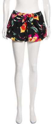 Joie Floral Printed Mini Shorts