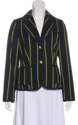 Pendleton Virgin Wool Striped Blazer